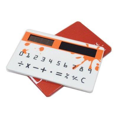 韓版pocket 超薄太陽能名片計算機 卡片 口袋型計算器【DJ278】☆久林批發☆