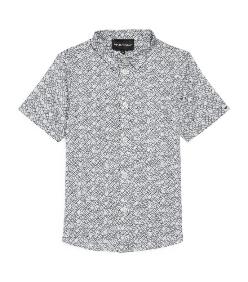 Emporio Armani Kids All-Over Print Shirt (4-16 Years)