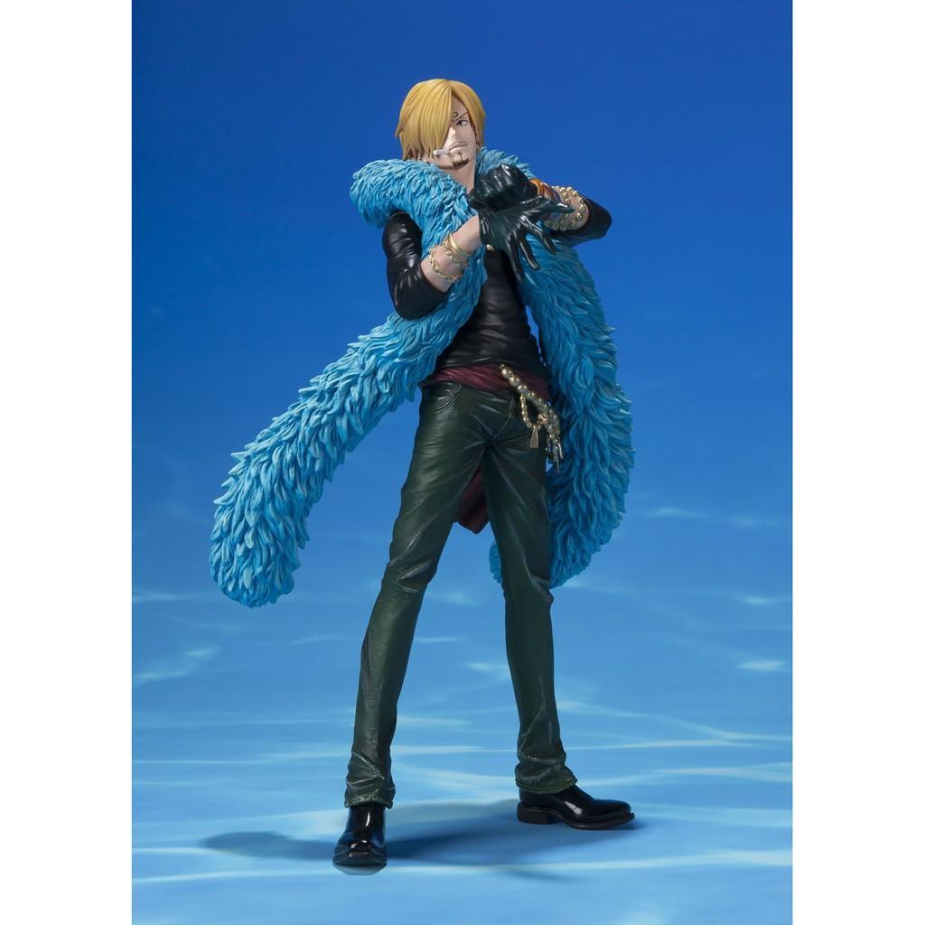 惠美玩品 現貨 海賊王 ZERO 公仔 1710 香吉士(山治) 20周年 藍衣豪華裝 ver