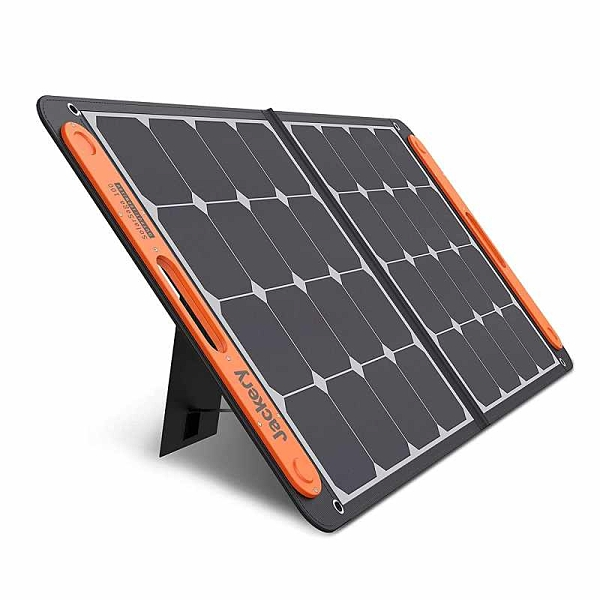 Jackery SolarSaga 100W 便攜式太陽能電池 用於Explorer 160/240/500/1000 Power Station [2美國直購]