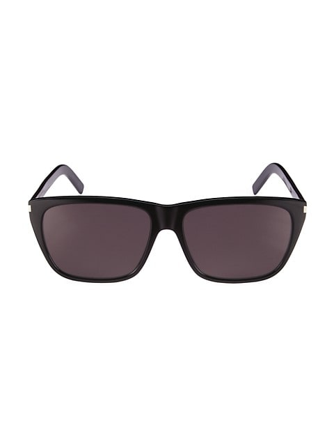Classic 57MM Rectangular Sunglasses