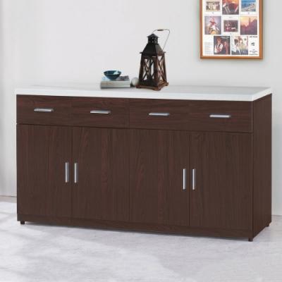 MUNA 799型5.3尺石面餐櫃/碗盤櫃(下座)(共兩色) 160X43X87m