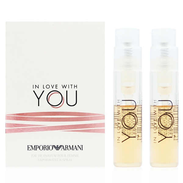 Emporio Armani IN LOVE WITH YOU M EDP 愛上你女性淡香精1.2ML X2入 [QEM-girl]