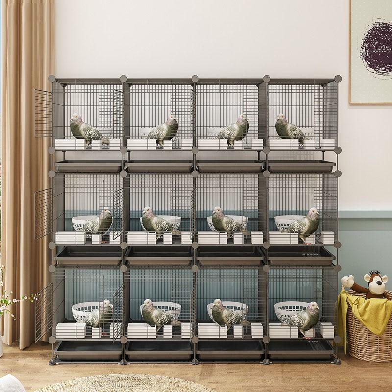 免運 鴿子籠養殖籠子家用鴿籠大型鴿舍大號特大配對巢箱三層麻雀籠鳥籠