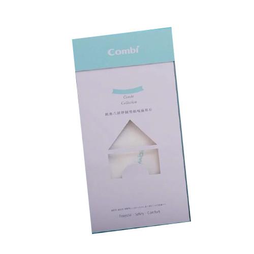 【100%精梳長纖棉】日本 Combi 六層紗圍兜拍嗝兩用巾/ 共五色