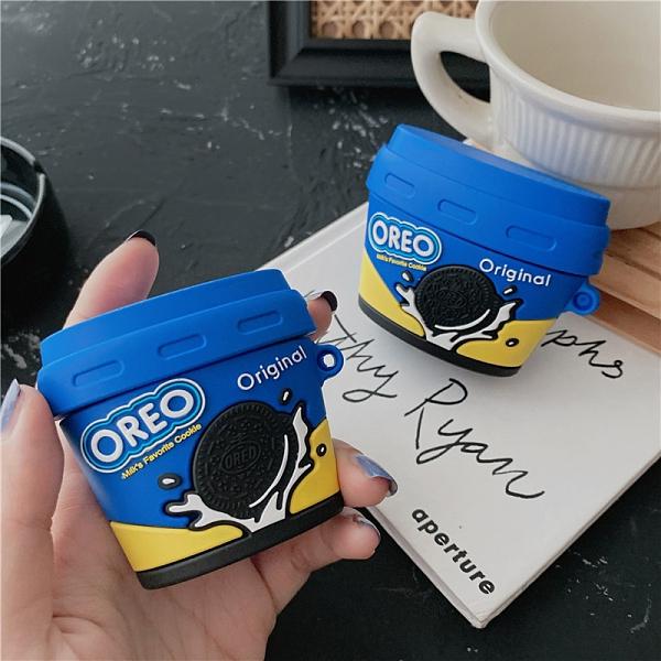 Airpods Pro 專用 1/2代 台灣發貨 [ OREO 巧克力餅乾罐 ] 藍芽耳機保護套 蘋果無線耳機保護