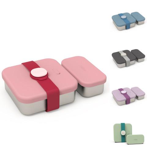 【viida品牌滿額送】台灣 VIIDA Kassie 便當盒(5款可選)