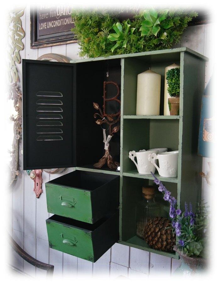 法式小清新鐵質做舊浴室柜吊柜 重慶買家可上門自提1入