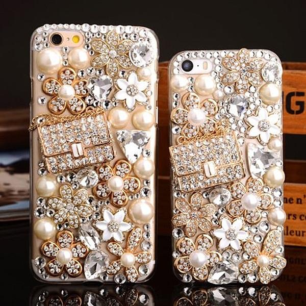 蘋果 iPhone12 iPhone11 Pro Max 12Mini XR XS iX i8+ i7+ SE 奢華錢包 水鑽殼 手機殼 訂製