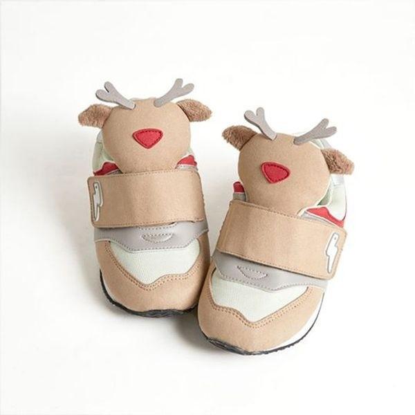 台灣 HUGHUG 動物鞋/童鞋/運動鞋(麋鹿/魯道夫)