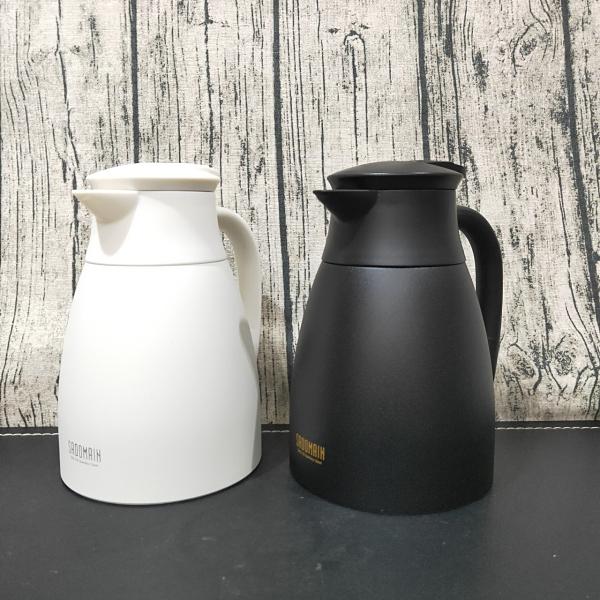 仙德曼 真空保溫天鵝壺 咖啡壺 熱水壺 保溫壺 304不鏽鋼 熱水壺 保溫 保溫杯 1000ml