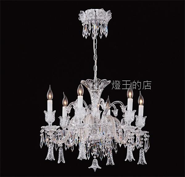 燈飾燈具【燈王的店】布拉格 水晶吊燈6燈 客廳燈 餐廳燈 吧檯燈 113-79/H6