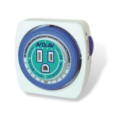 【酷購Cutego】聖岡科技 24小時多段機械式定時器 (TM-306D) 1天最多可設48段定時