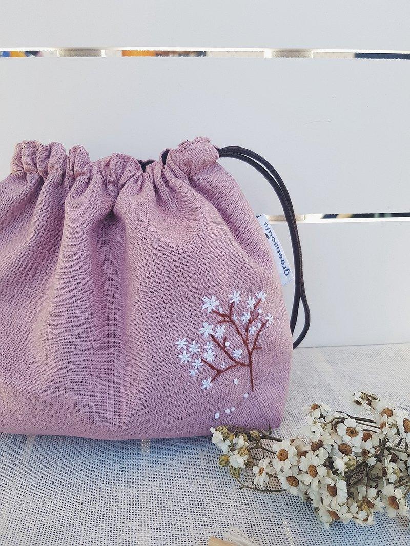 Cherry Blossom 束口收內袋