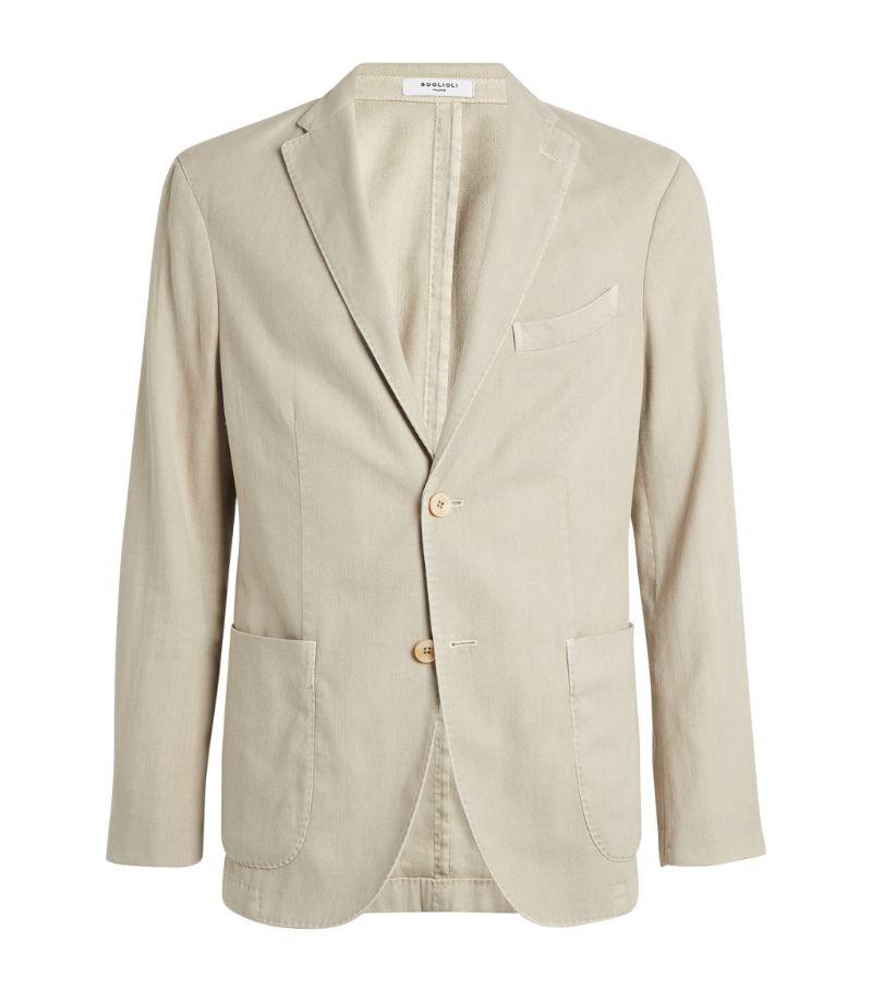 Boglioli Cotton-Linen Tailored Jacket