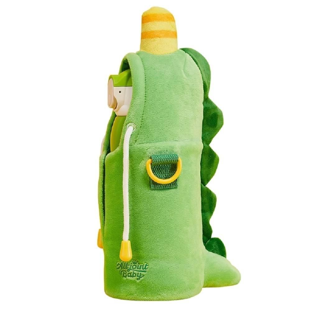 【限量送矽膠吸管2入】義大利 All joint 貼貼保溫瓶 (恐龍)