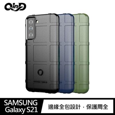 QinD SAMSUNG Galaxy S21 戰術護盾保護套