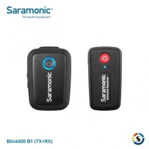 【】楓笛 Saramonic Blink500 Pro B1 (TX+RX) 一對一無線麥克風套裝