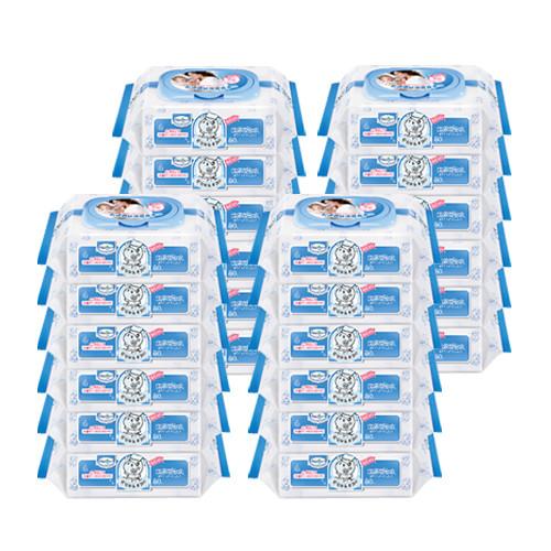 【滿$499限量送沙棘沐浴露(30ml)】台灣  Baan 貝恩  嬰兒保養超純水柔濕巾-無香料80抽(24包/箱)