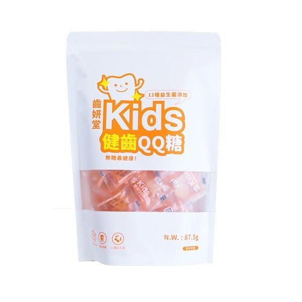 齒妍堂 Kids 木醣醇健齒QQ糖 乳酸多多口味(不含糖)(35顆裝/包)