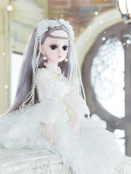 芭比娃娃 60CM芭比丹路洋娃娃套裝大號禮盒公主仿真精致超大女孩單個布TW【快速出貨八折優惠】