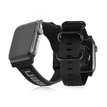 UAG Apple Watch 38/40mm Nato環保錶帶-黑(19149C114040)