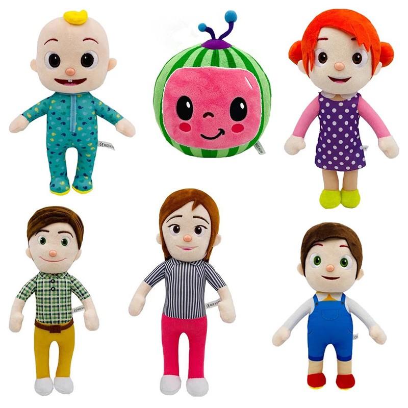 Nu Cocomelon Jj 毛絨玩具 26 厘米 / 10 英寸男孩填充娃娃教育孩子兒童生日禮物