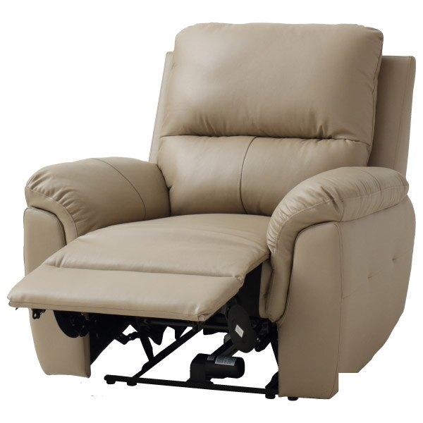 ◎半皮1人用電動可躺式沙發 N-BEAZEL MO NITORI宜得利家居