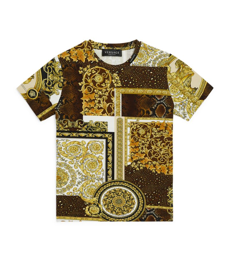 Young Versace Baroque Print T-Shirt (4-14 Years)