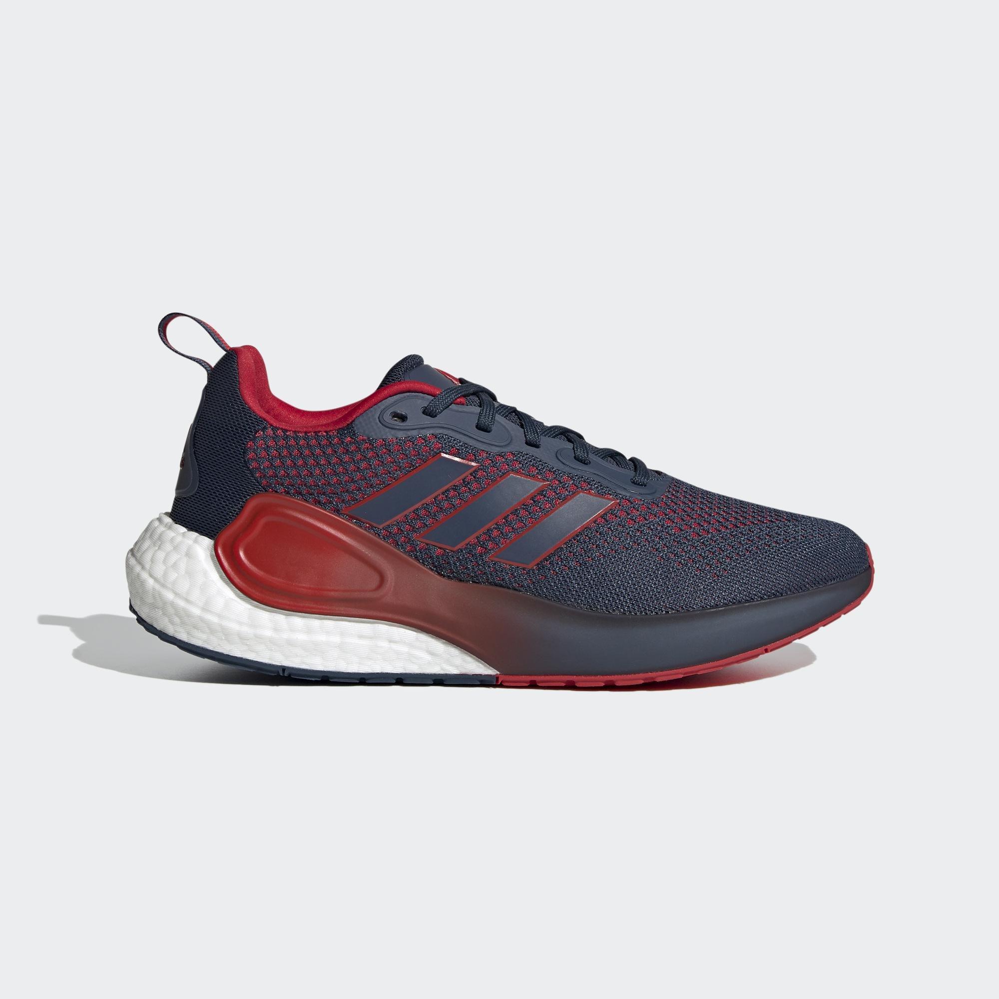 ADIDAS ALPHALAVA 男 慢跑鞋 藍紅