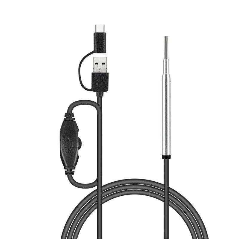 新店五折 3.9MM三合一手機高清可視耳勺潔耳器可視挖耳勺內窺鏡攝像頭