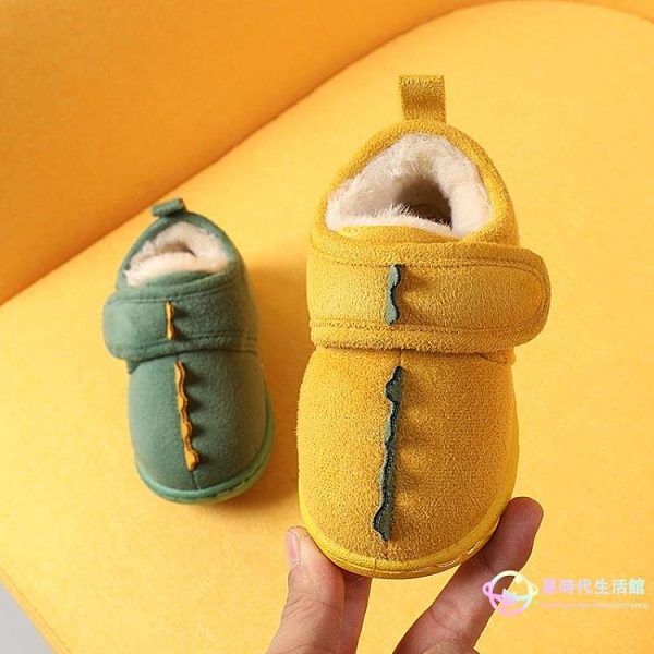 女童靴子 兒童棉鞋男冬季嬰幼兒加絨女寶寶雪地靴1-3歲2保暖二棉鞋防滑靴子