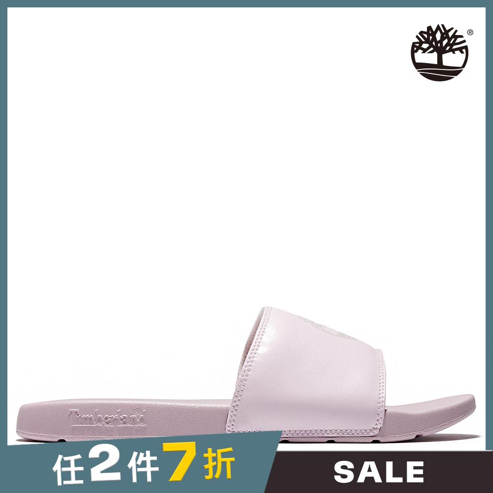 Timberland 中性淺粉色休閒拖鞋|A27TSX82