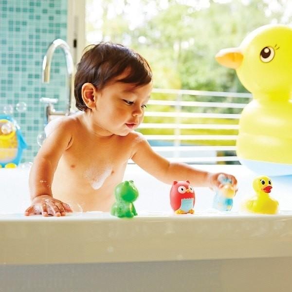 美國 munchkin 動物農場噴水洗澡玩具8入(9m以上適用)