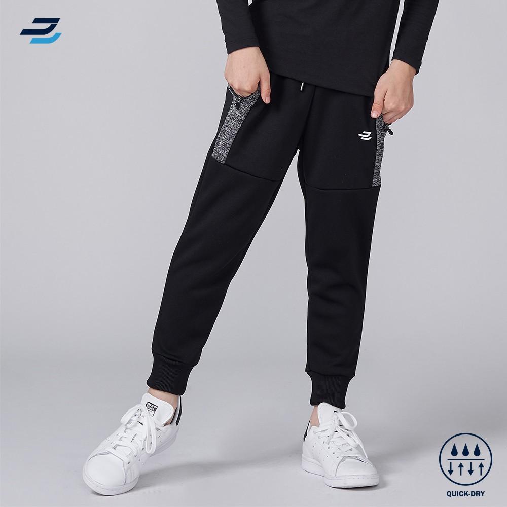 BATIS 男童剪接配色吸排長褲 台灣設計製造 MIT機能生活服飾品牌
