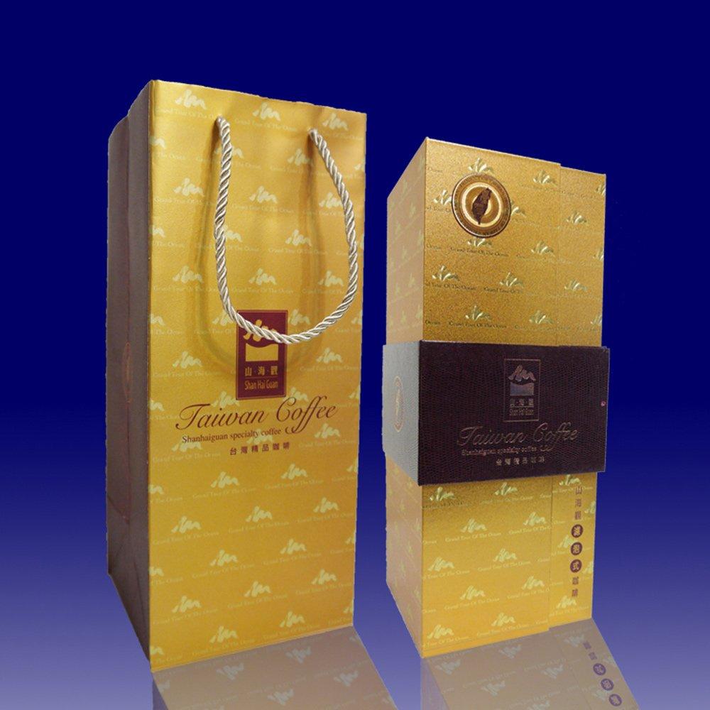 古坑【山海觀咖啡莊園】精品濾泡式咖啡(禮盒)1件(25入/盒)
