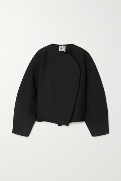 Totême - 棉质羊毛混纺夹克 - 黑色 - FR36