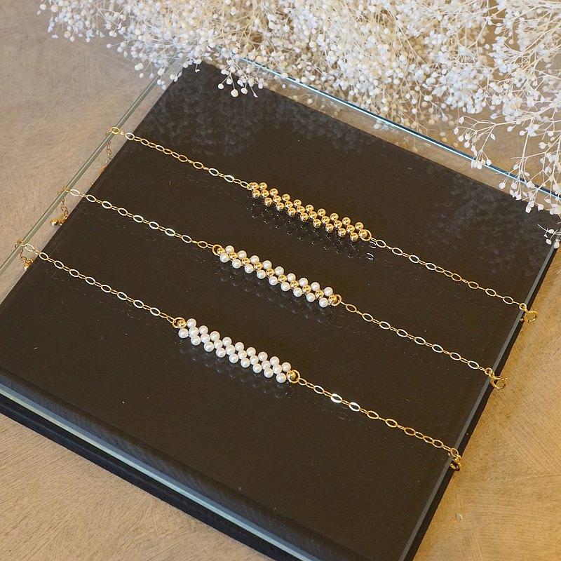 14kgf Random pearl bracelet (TM-B035)