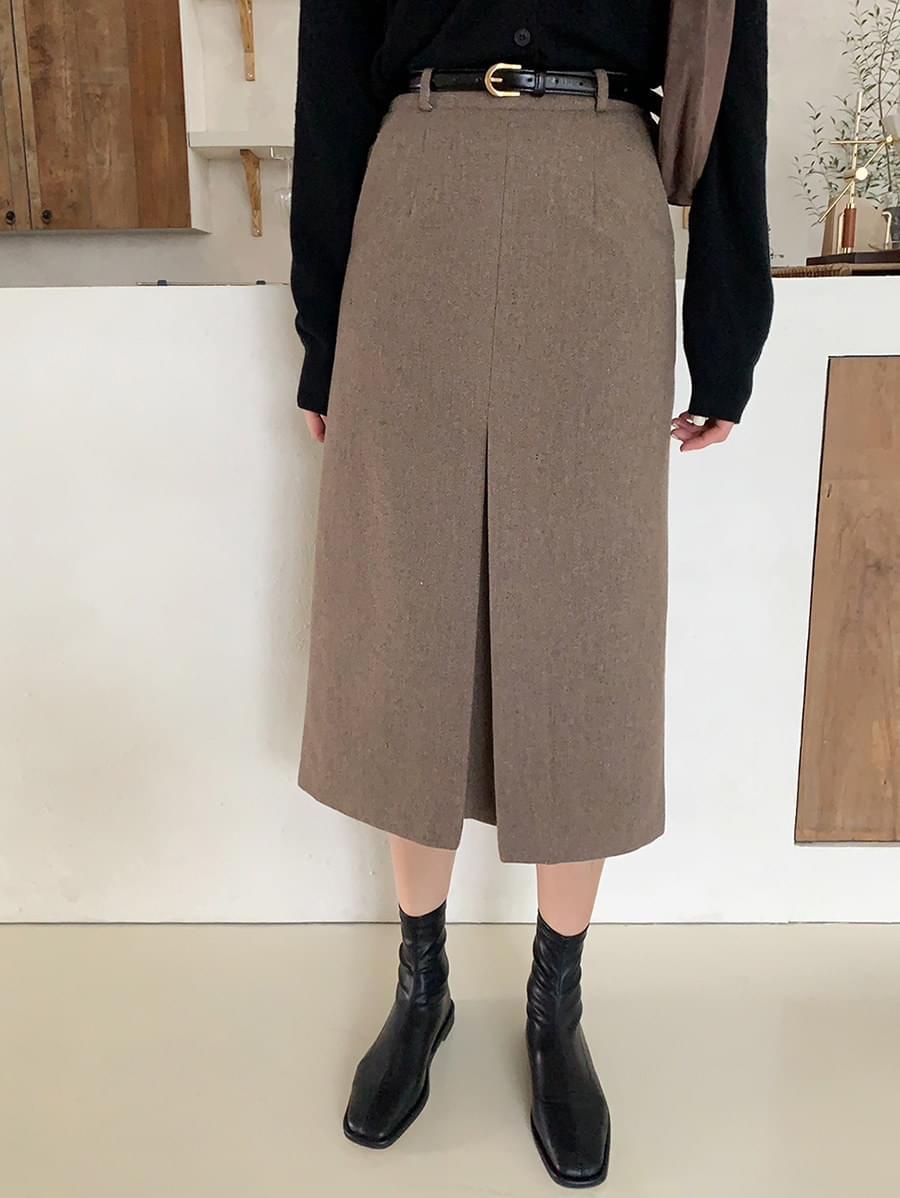 韓國空運 - Once Slit Skirt 裙子