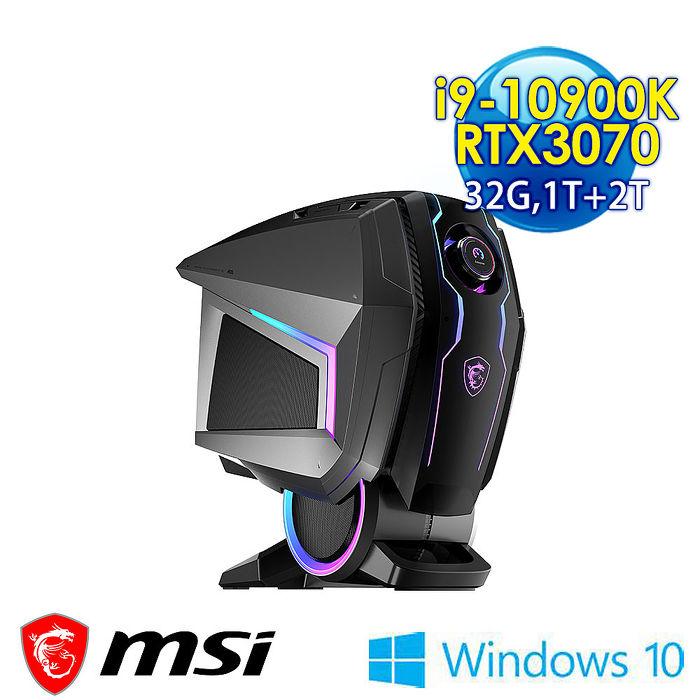 [預購]msi微星 MEG Aegis Ti5 10TD-046TW-B91090K307832G2T01T0X10PHLZ9 電競桌機(i9-10900K/32G/1