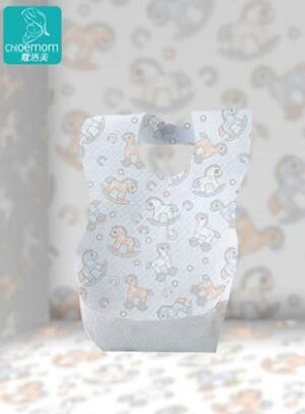 一次性圍兜免洗嬰兒便攜防水寶寶吃飯圍兜幼兒童口水巾大號圍嘴軟