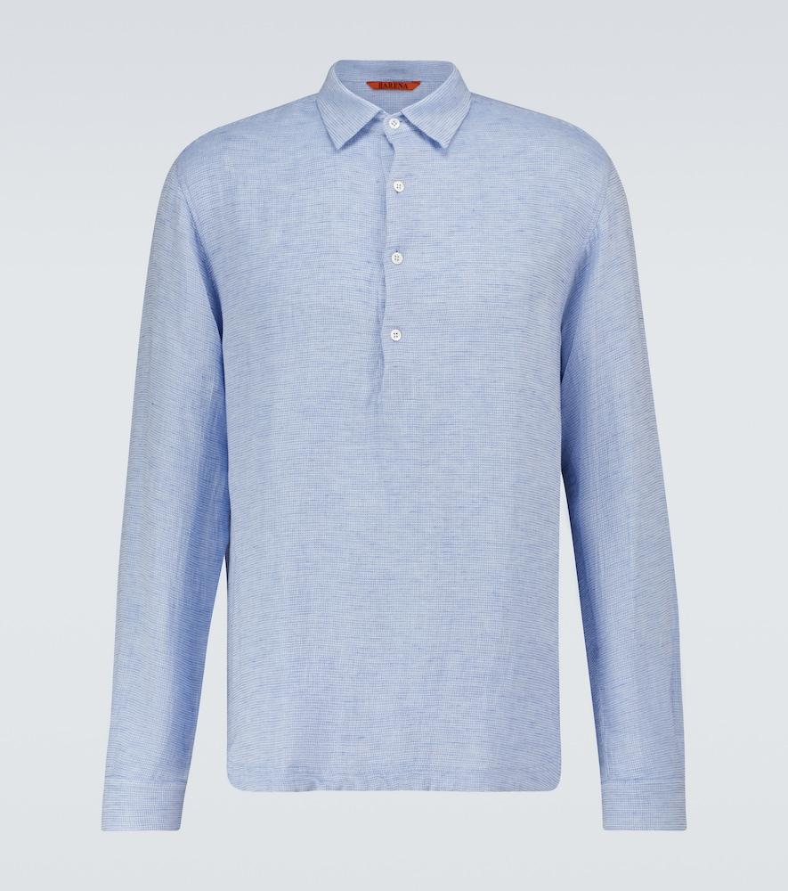 Pavan Regio cotton-blend polo shirt
