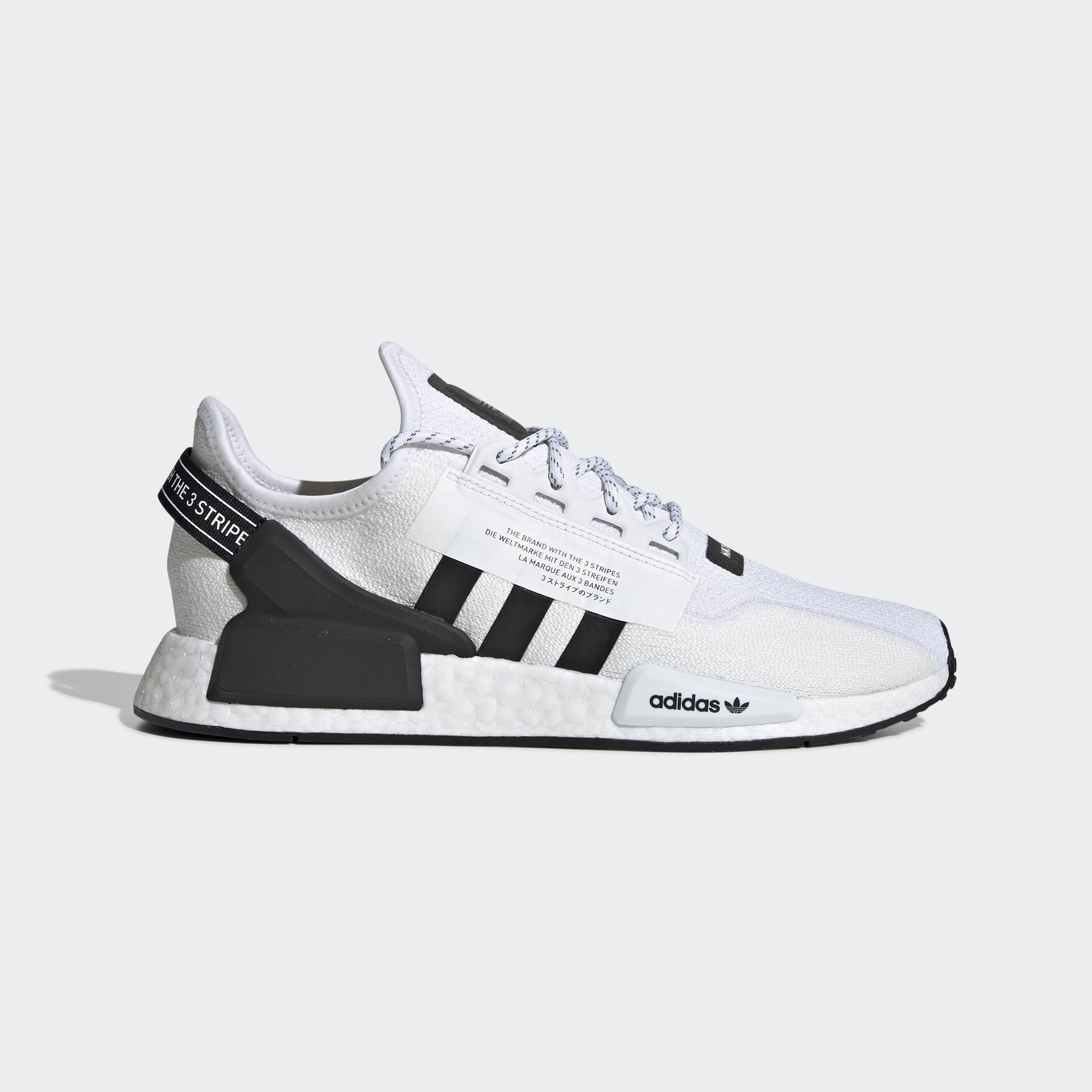 ADIDAS NMD_R1.V2 中 休閒鞋 白