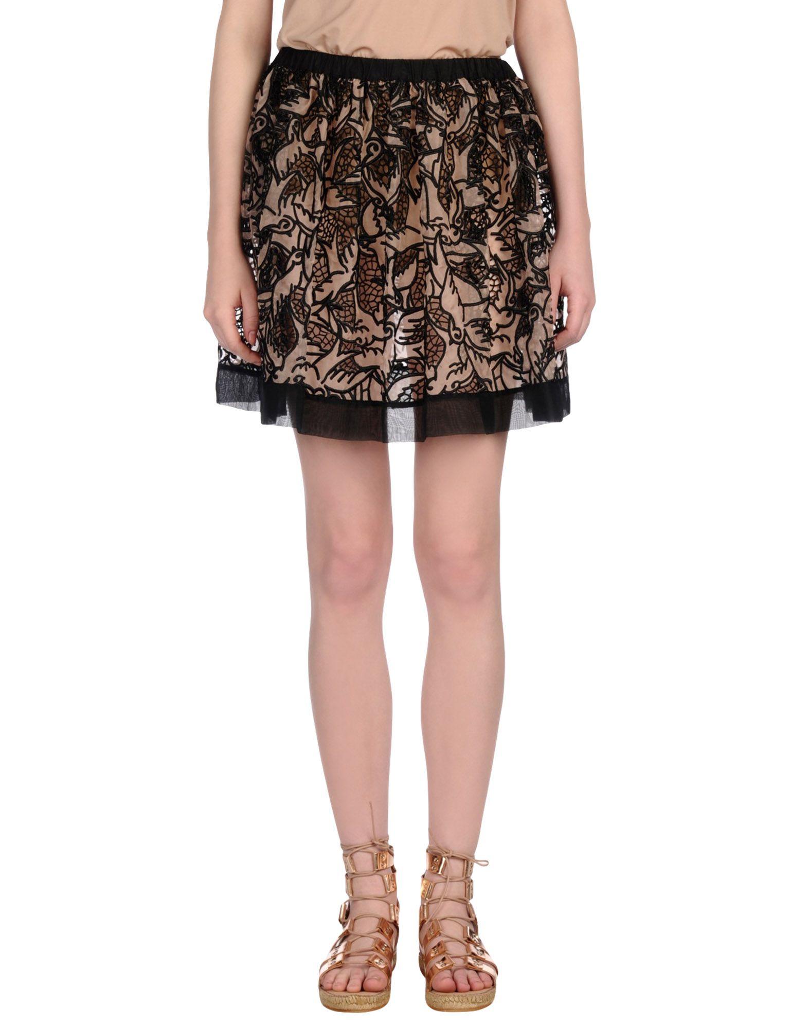 REDValentino Knee length skirts - Item 35320018