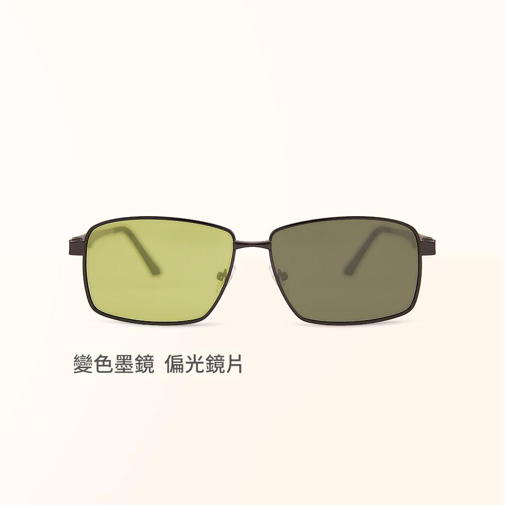 太陽黃感光變色夜視防眩光寶麗來偏光太陽眼鏡uv400墨鏡alegant