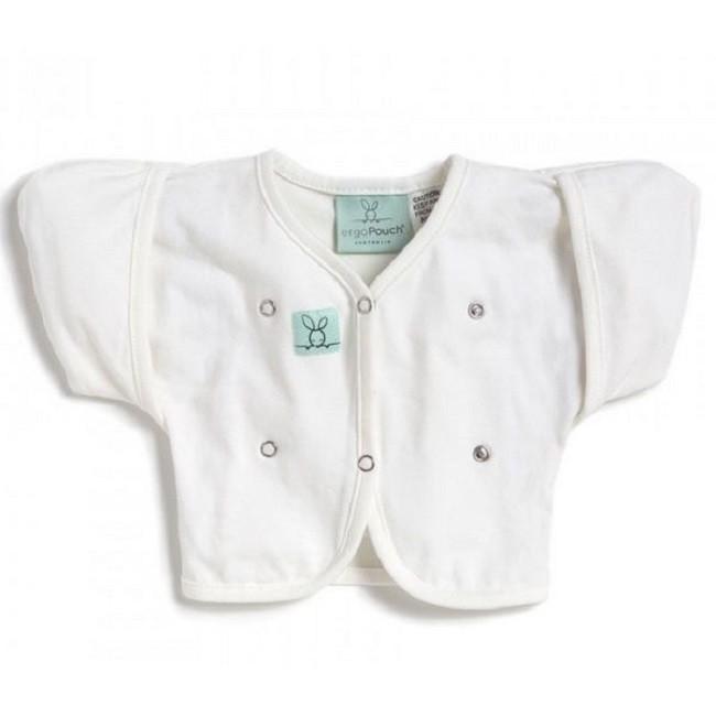 澳洲ergoPouch 有機棉2-6M丘丘衣-天使白/麻花灰(2色)
