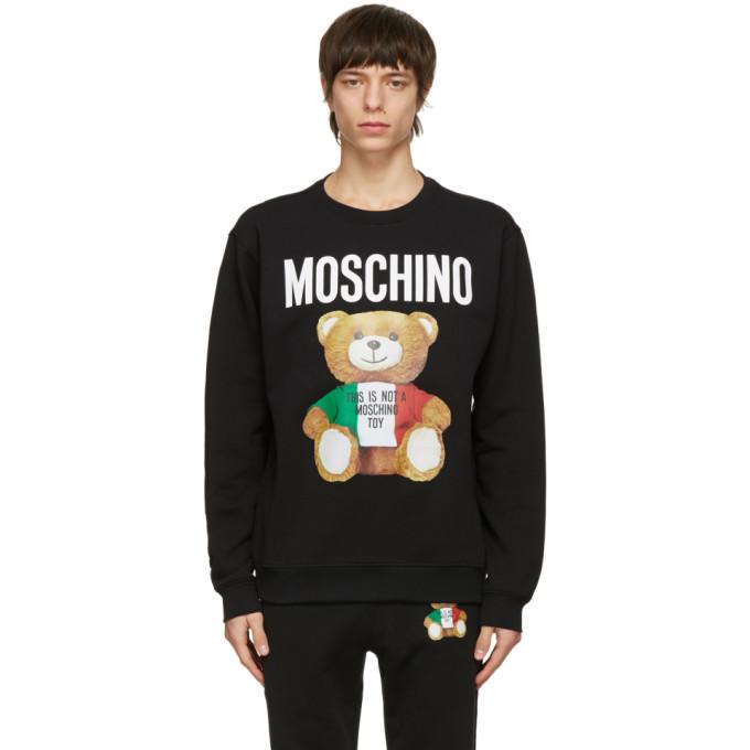 Moschino 黑色 Italian Teddy Bear 套头衫