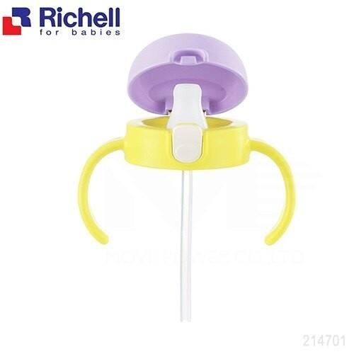 日本 Richell 利其爾  TLI 鴨嘴吸管上蓋配件組200ML / 共兩款