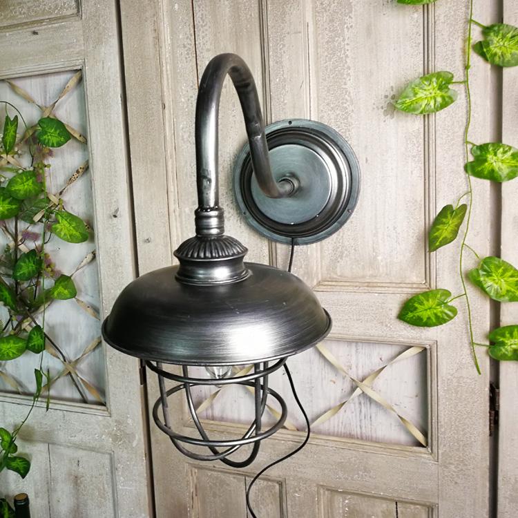 工業風復古鐵藝臺燈道具 懷舊裝飾擺件 攝影老物件 櫥窗擺設孤品1入