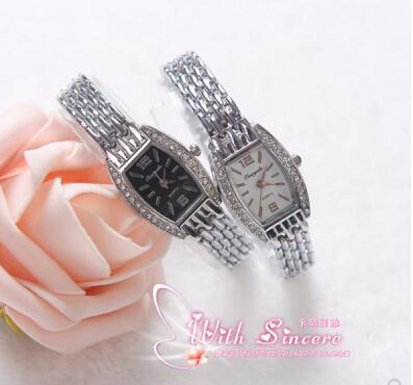 手表女士腕表防水時尚韓版方形鋼帶女款時裝表女表石英表 極簡雜貨